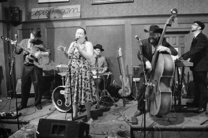 the sugar thieves band performs at the spirit room