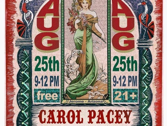 carol pacey spirit room poster