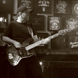 will gantry on bass guitar