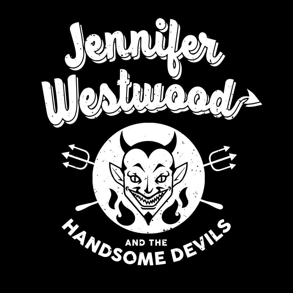 Jennifer Westwood and the handsome devils
